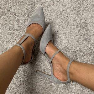 Grey pumps - Nine West